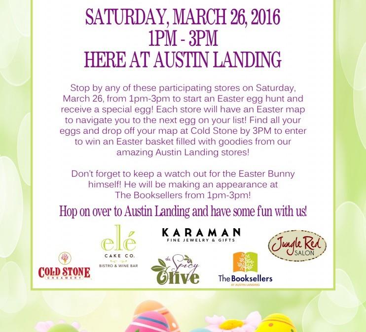 Easter Egg Hunt At Austin Landing