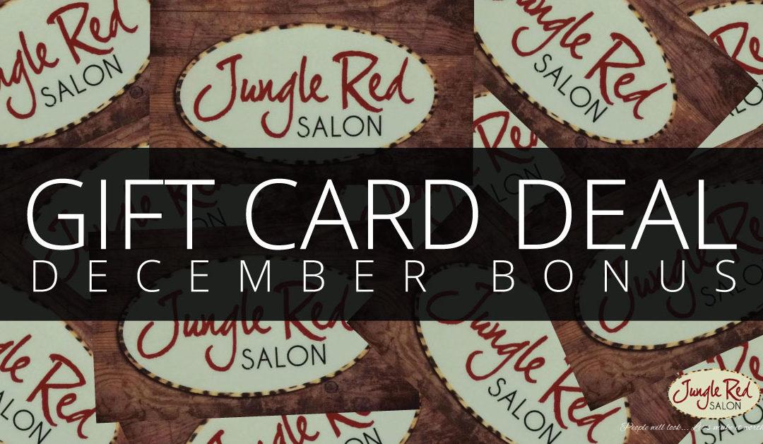 Gift Card Bonus!