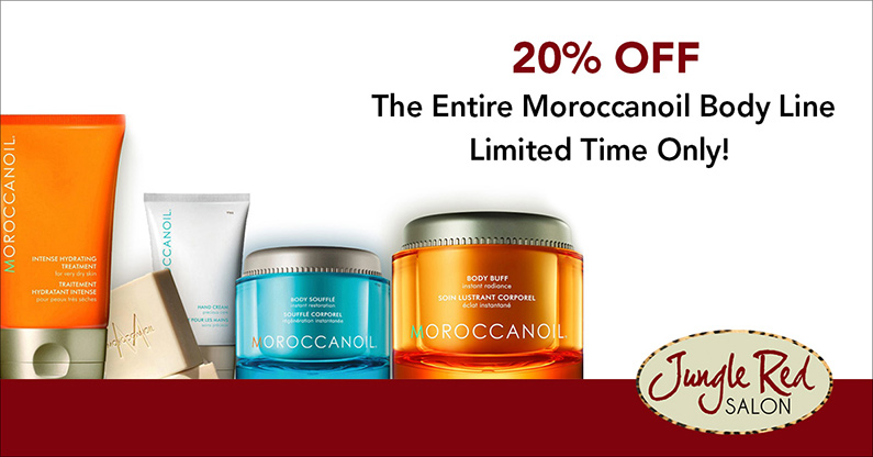 Moroccanoil BODY Line Special Offer!